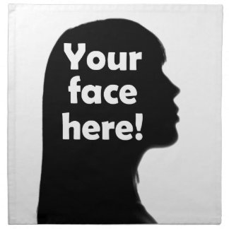 Ihr-Gesicht-hierkopie Serviette