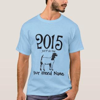 IHR HERDEN-NAME Jahr der ZIEGEN-BOER Ziege T-Shirt