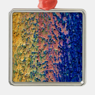 Ihr Hintergrund kundenspezifisches erstklassiges Quadratisches Silberfarbenes Ornament