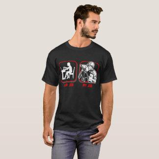 Ihr Job mein Job-ziviles Ingenieur-Beruf-T-Shirt T-Shirt