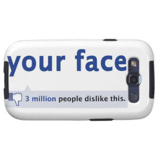 Ihr Kasten Gesicht Samsung-Galaxie-S Schutzhülle Fürs Galaxy SIII