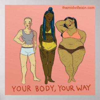 Ihr Körper Ihre Weise Poster
