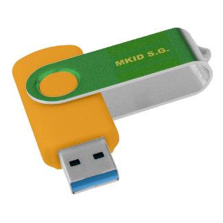 Ihr kundenspezifischer Silber 16 USB-Blitz USB Stick