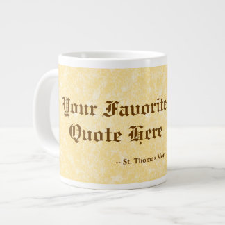 Ihr Liebling St Thomas mehr Zitat riesig/Extra Jumbo-Tasse