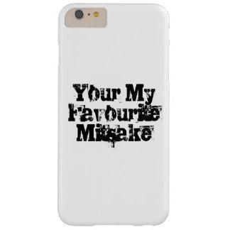 Ihr mein LieblingsMitsake Barely There iPhone 6 Plus Hülle