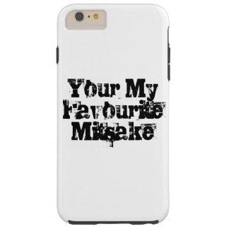 Ihr mein LieblingsMitsake Tough iPhone 6 Plus Hülle