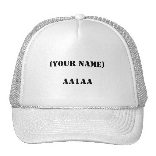 (IHR NAME) AA1AA NETZCAP