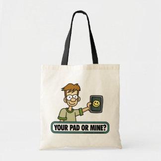 Ihre Auflage-oder Bergwerk-Tasche Budget Stoffbeutel