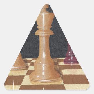 Ihre Bewegung Dreieckiger Aufkleber