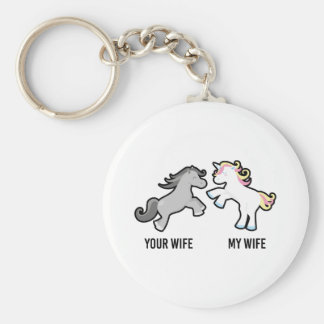 Ihre Ehefrau mein EhefrauUnicorn Schlüsselanhänger