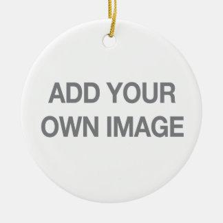 Ihre eigene Bild-Verzierung Rundes Keramik Ornament