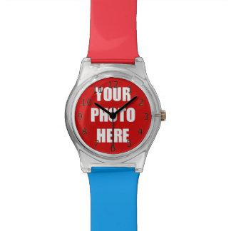 Ihre Foto-hier Schablone Uhr