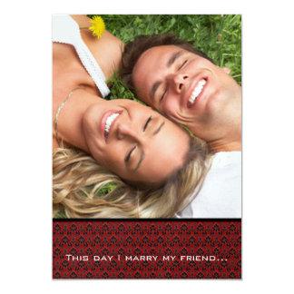 Ihre Foto-Hochzeit laden mich heiraten mein 12,7 X 17,8 Cm Einladungskarte