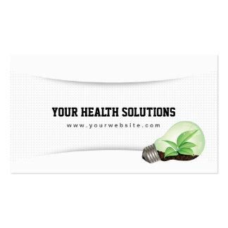 Ihre Gesundheits-Lösungen säubern Visitenkartenvorlage