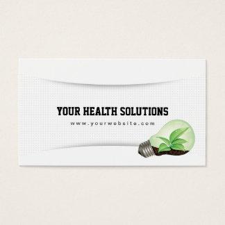 Ihre Gesundheits-Lösungen säubern Visitenkarten