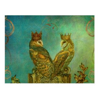 Ihre Liebe ist Königpostkarte Postkarte