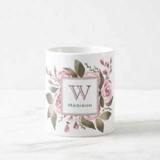 Ihre LieblingsRosen-Monogramm-Tasse Kaffeetasse