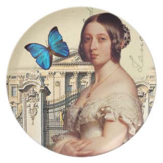 Ihre Majestäts-Königin Victoria Party Teller