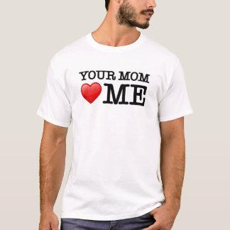 Ihre Mamma-Lieben ich T-Shirt