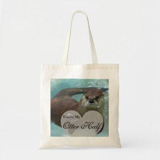 Ihre meine Otter-halbe Brown-Fluss-Otter-Schwimmen Tragetasche