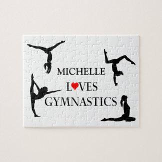 """""""IHRE NAMENS"""" Liebe-Gymnastik Puzzle"""