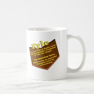 Ihre NamensTasse, Ursprung und Bedeutung: Kyle Kaffeetasse