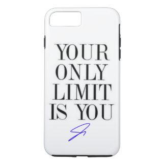 Ihre nur Grenze ist Sie Telefon-Kasten iPhone 8 Plus/7 Plus Hülle