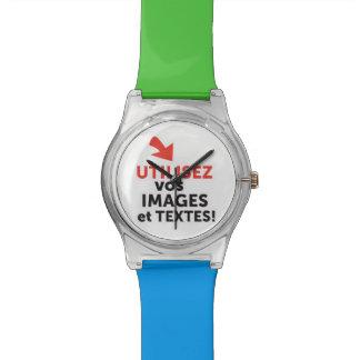 Ihre online Designs DIY auf französisch drucken Uhr
