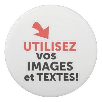 Ihre online Konzeptionen auf französisch drucken Radiergummi