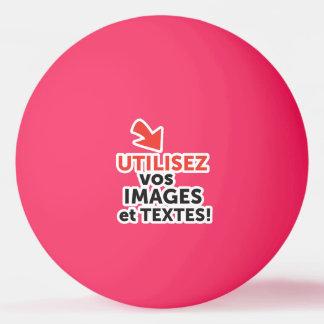 Ihre online Konzeptionen auf französisch drucken Tischtennis Ball