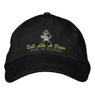 Ihre personalisierte Piraten-Stickerei Bestickte Baseballkappen