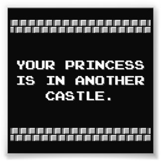 Ihre Prinzessin ist in einem anderen Schloss Kunstfoto