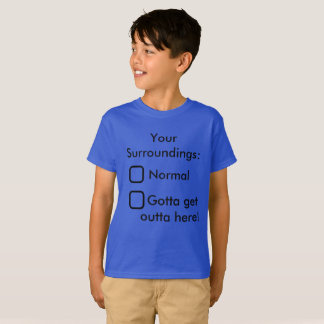 Ihre Umgebungs-lustige KinderT - Shirt-Schule T-Shirt
