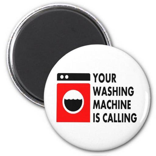 Ihre Waschmaschine nennt Kühlschrankmagnete