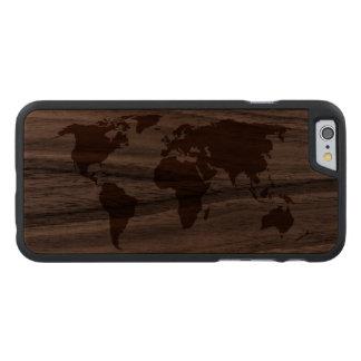 Ihre Welt - Carved® iPhone 6 Hülle Walnuss