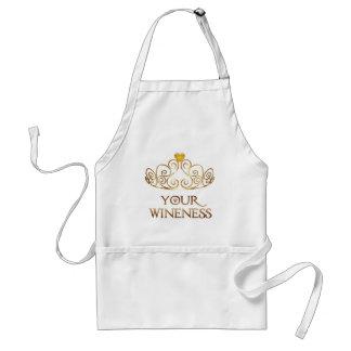 Ihre Wineness Schürze