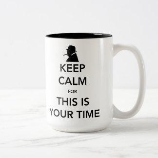 Ihre Zeit-große Tasse