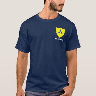 "III Korps ""Amerikas Hammer "" T-Shirt"
