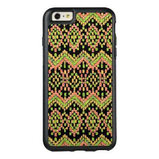 Ikat ethnisches maurisches Muster auf besonders OtterBox iPhone 6/6s Plus Hülle