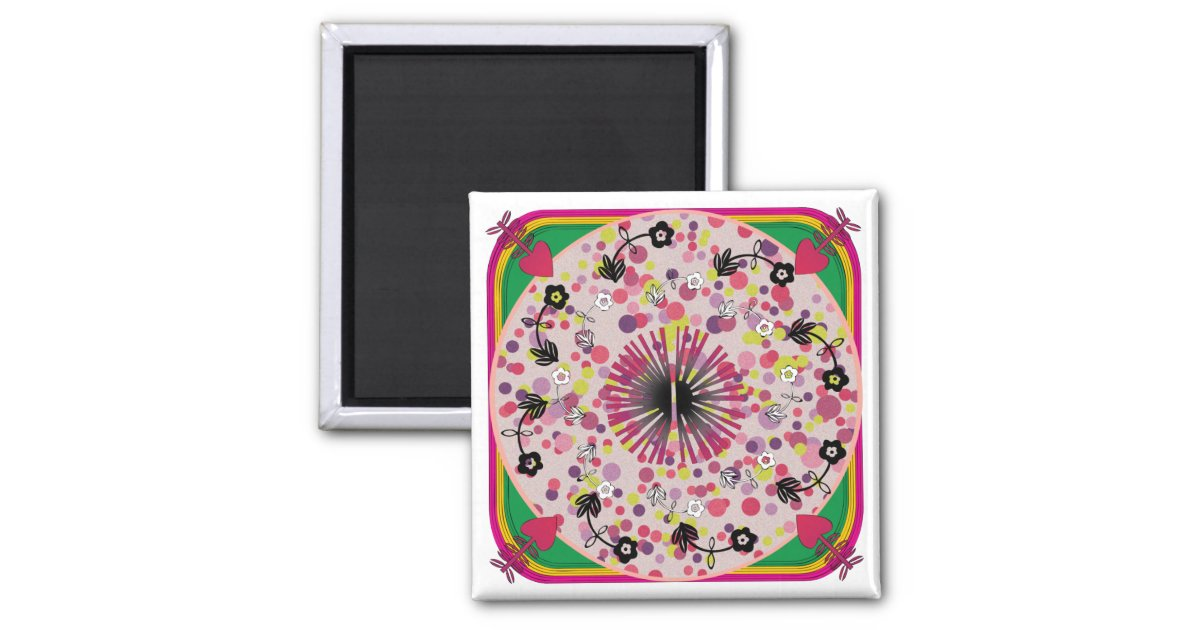 ikea wolldecke rosa kreis magnet quadratischer magnet zazzle. Black Bedroom Furniture Sets. Home Design Ideas