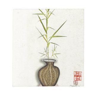 ikebana 19 durch tony fernandes notizblock