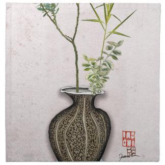 Ikebana 6 durch tony fernandes stoffserviette