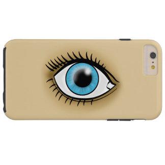 Ikone des blauen Auges Tough iPhone 6 Plus Hülle