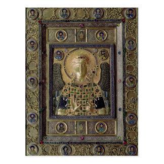 Ikone, die den Erzengel Michael darstellt Postkarte