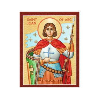 Ikone St. Jeanne d'Arc Leinwanddruck