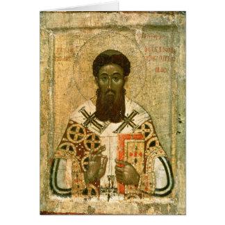 Ikone von St- Gregoryerzbischof von Saloniki Karte