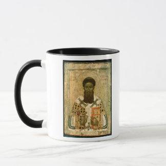 Ikone von St- Gregoryerzbischof von Saloniki Tasse