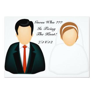 Ikonen-Hochzeit 12,7 X 17,8 Cm Einladungskarte