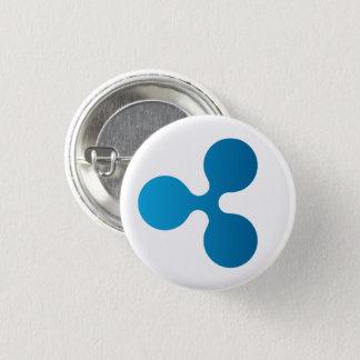 Ikonen-runder Knopf der Kräuselungs-XRP (weiß) Runder Button 3,2 Cm
