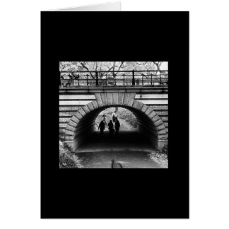 Ikonenhafte New- Yorkreihe: Central Park-Bogen Karte